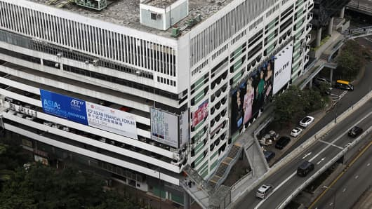 The plot of land that the Murray Road multi-story car park stood on in the Central district of Hong Kong, China, was sold for $3 billion earlier this year.