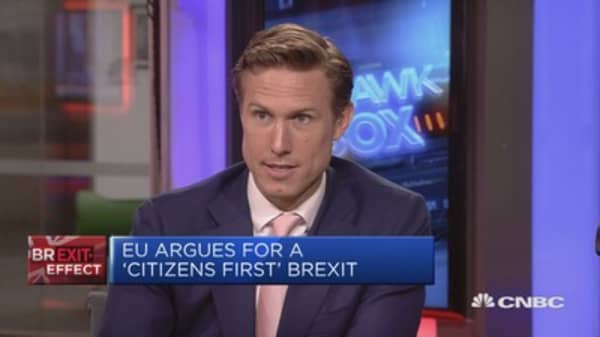 Barnier: Agreed on the importance of timing for first phase of talks