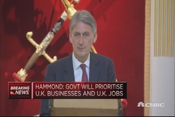 Govt will prioritize UK businesses and UK jobs: UK Fin Min