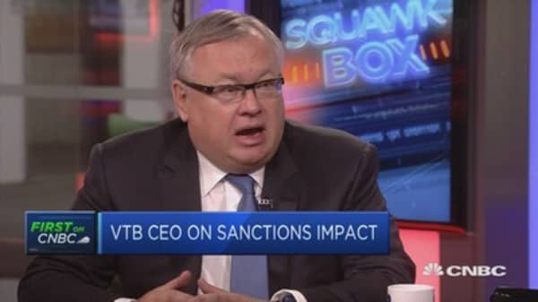 VTB CEO: See growing investor interest in Russia