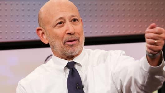 Goldman's Lloyd Blankfein seems to be making a habit out of trolling Trump