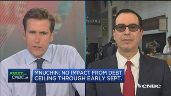 Treasury's Mnuchin: We're 100% committed to tax reform this year