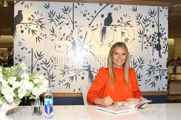Gwyneth Paltrow at a book signing event in Los Angeles on June 8, 2017