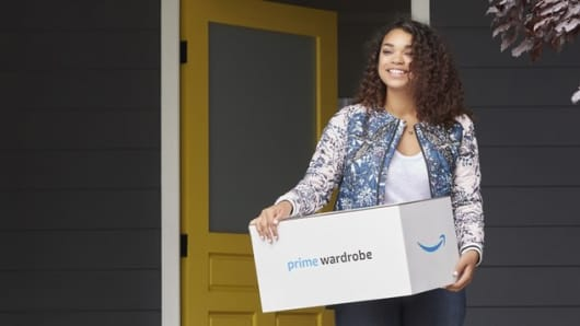 Amazon launches Prime Wardrobe.