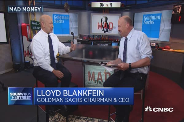 Why Goldman CEO Lloyd Blankfein has taken to Twitter