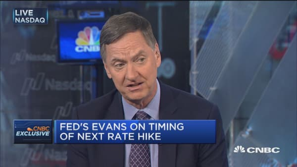 Fed's Evans: Recent inflation data did make me nervous