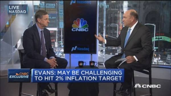 Fed's Evans: Possible to get short-term 3% growth