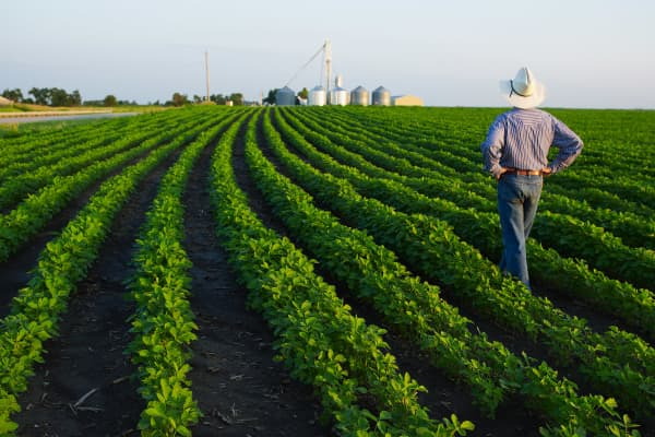A farmer in Nebraska.