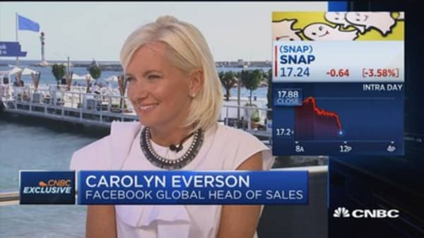 Facebook's Everson on brand safety