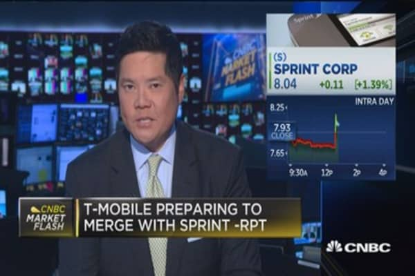 T-Mobile preparing to merge with Sprint