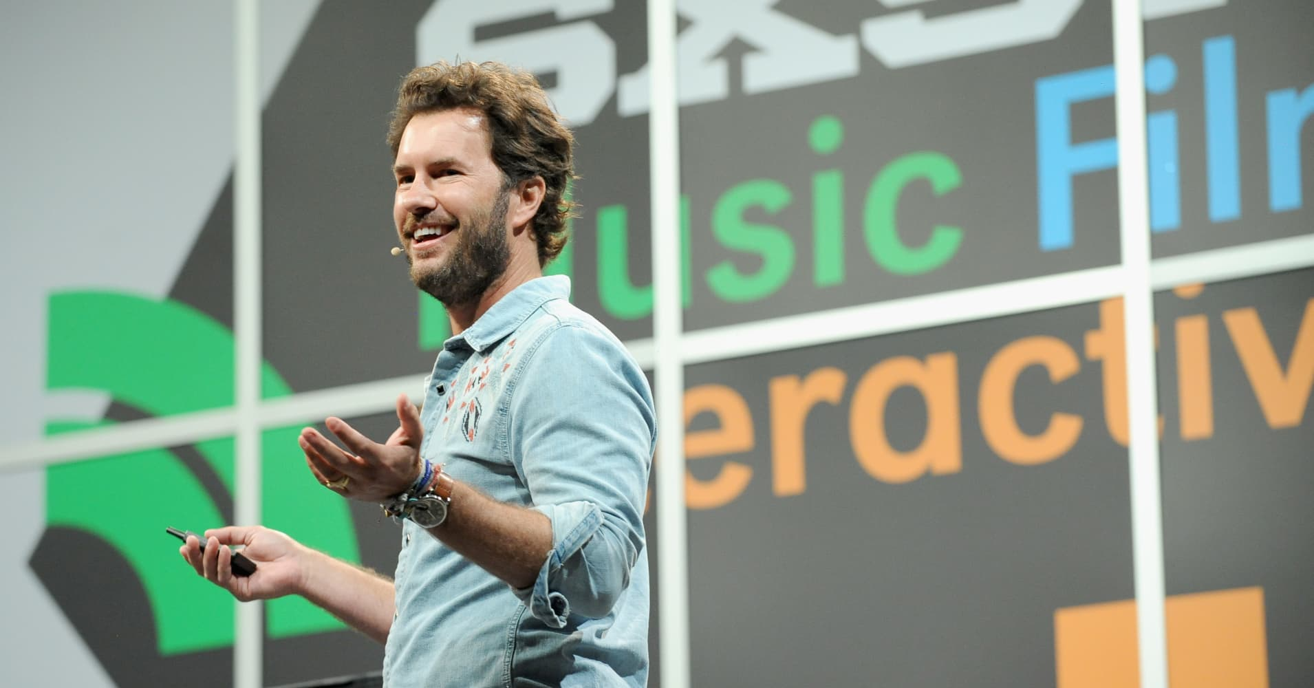 Blake Mycoskie, founder and Chief Shoe Giver of Toms Shoes