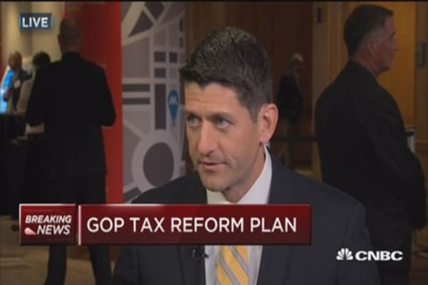 Ryan: America's tax system is worst in the world