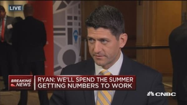 Ryan: We'll spend the summer getting the numbers to work