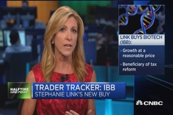 Trader Tracker: Stephanie Link's biotech bet