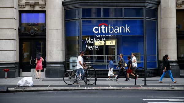 Citi Doubles Dividend Bank Shares Jump After Industry Passes Fed