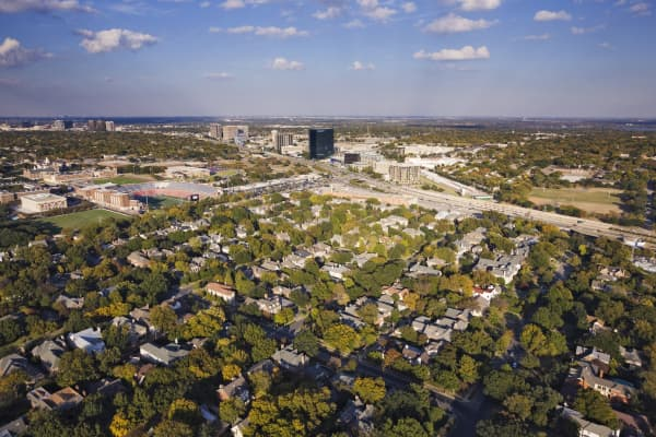 University Park is an affluent city in Dallas