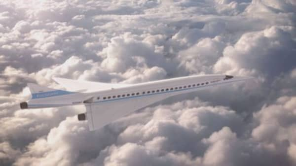 Supersonic flight promised by 2023 as Boom announces airline orders