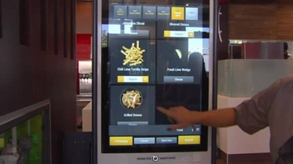 McDonald's hits all-time high as Wall Street cheers replacement of cashiers with kiosks