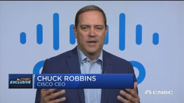 Cisco CEO: We're ushering in a new era of network