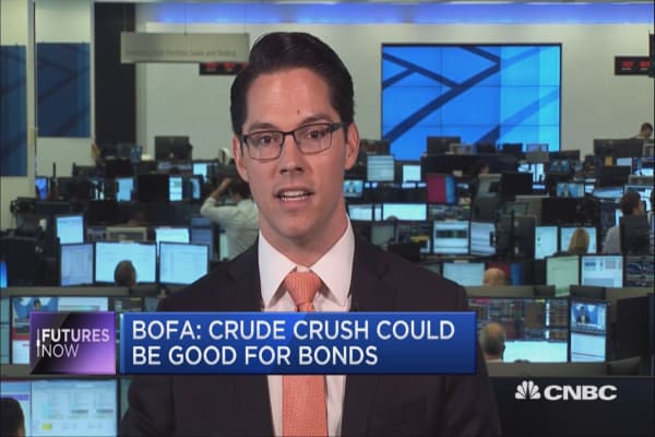 Here's why oil could head to the $30s: BofAML Strategist