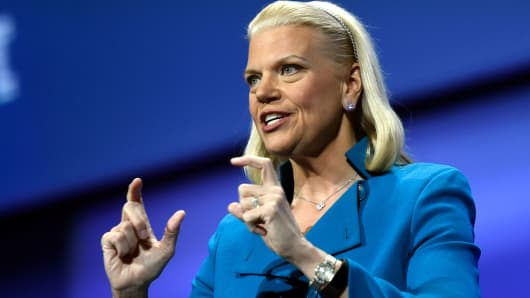 Ginni Rometty, chief executive officer of International Business Machines Corp.