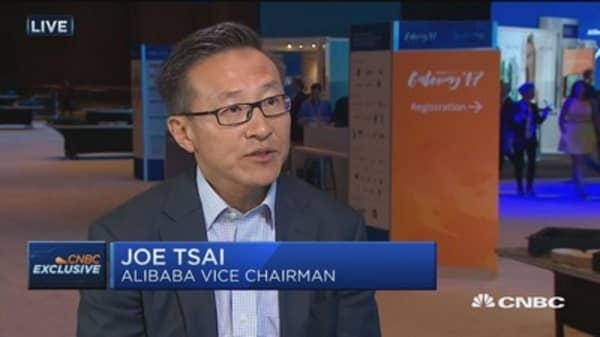 Alibaba Vice Chair 'not surprised' at Amazon buying Whole Foods