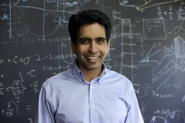 Sal Khan, founder and executive director of Khan Academy.