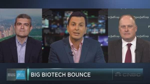 Buy the big biotech bounce?