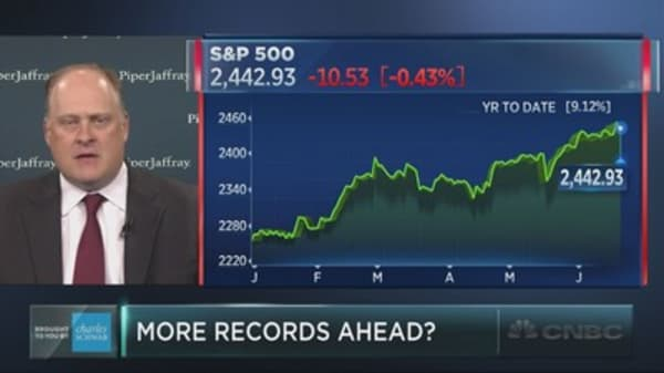 How much higher can the S&P 500 rise this summer?