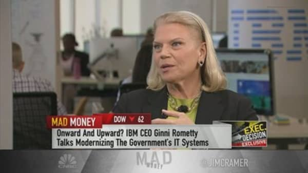 IBM CEO Rometty on Trump tech meeting