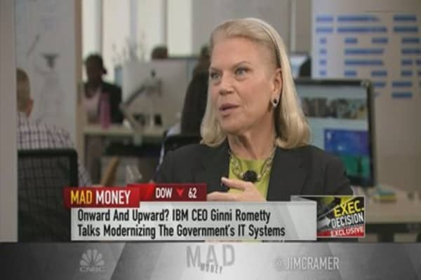 IBM CEO Rometty on Trump tech meeting