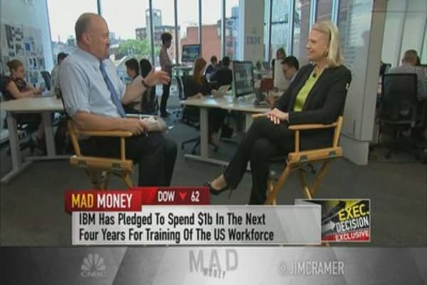 IBM CEO Ginni Rometty shares thoughts on Trump technology meeting