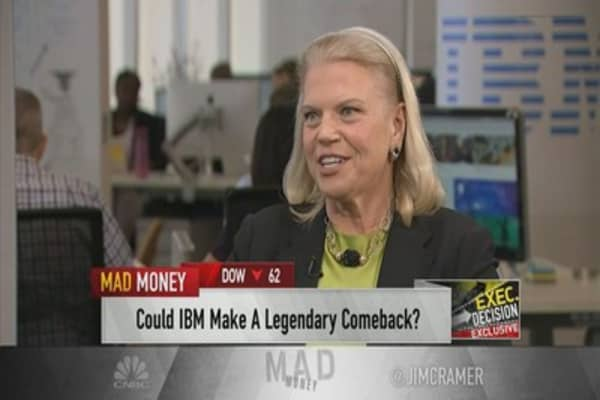 IBM CEO Ginni Rometty responds to Warren Buffett selling IBM shares