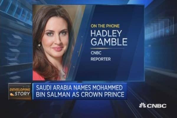 Saudi Arabia's royal shake-up