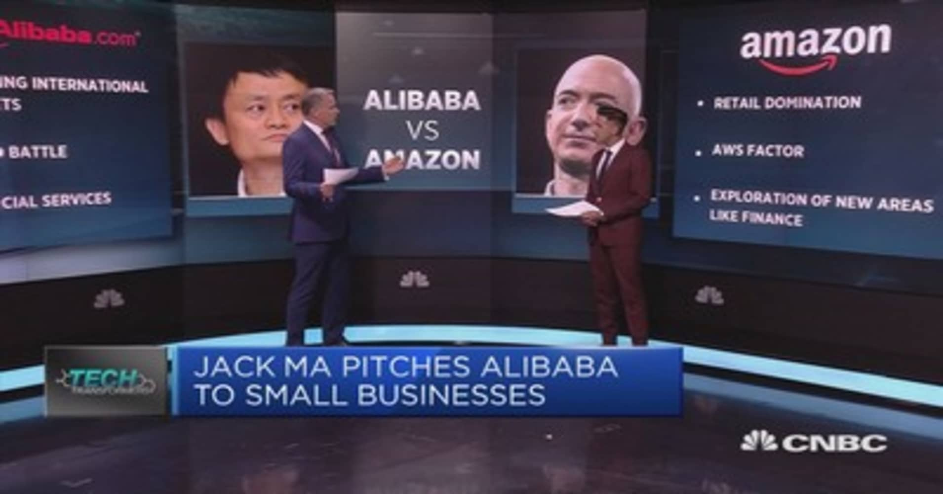 Alibaba vs  Amazon: Is it that simple?
