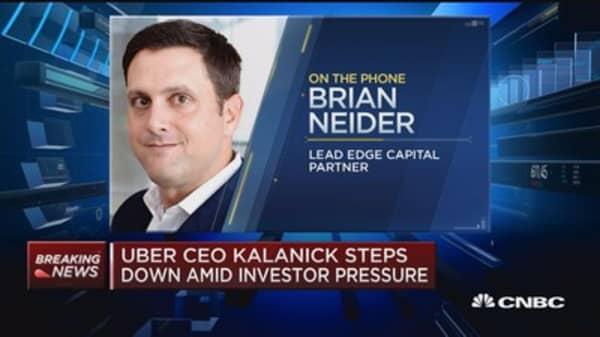 Executive Edge: Travis Kalanick out at Uber