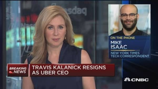 Kalanick resignation doesn't mean the end of Travis: Mike Isaac