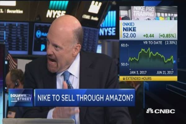 Nike to sell through Amazon?