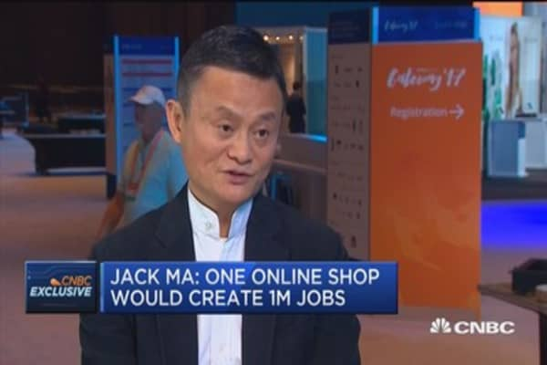One online shop can create 1 million jobs: Jack Ma