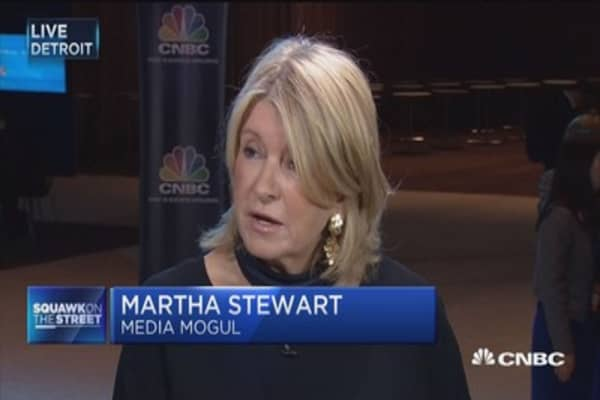 Martha Stewart: American makers should sell their products on Alibaba