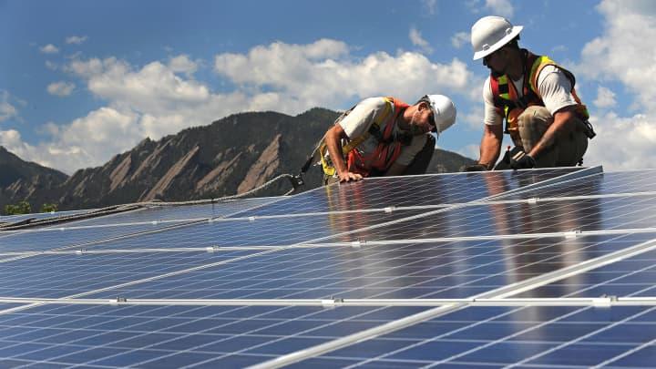 Colorado solar installation technology