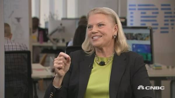 The valuable lesson IBM CEO Ginni Rometty learned from her mom when her dad left