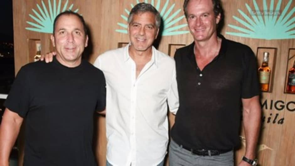 George Clooney just sold his tequila business for up to $1 billion