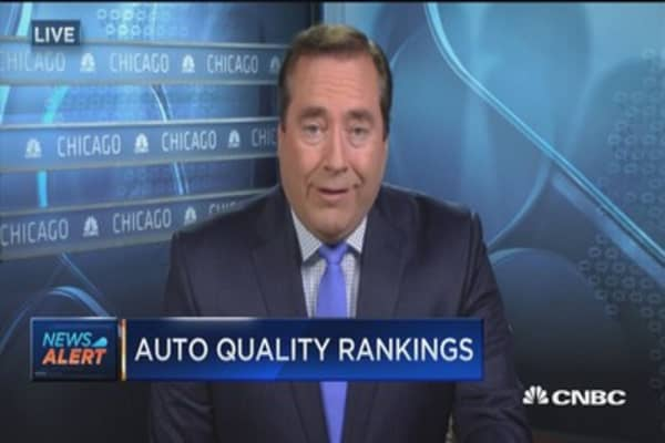 Volvo, Jaguar, Fiat rated worst in initial quality: JD Power survey