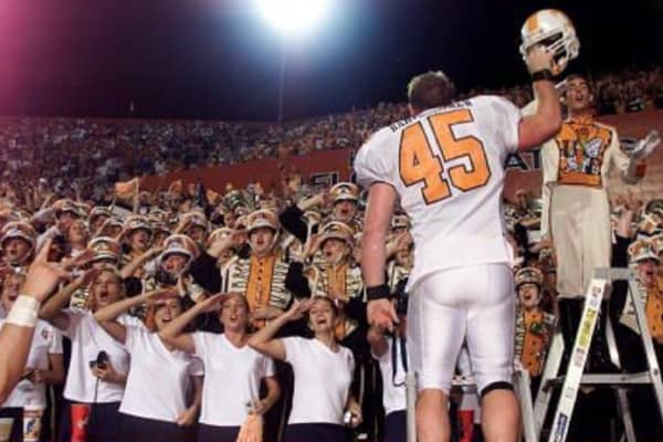 Will Bartholomew played for the University of Tennessee Volunteers