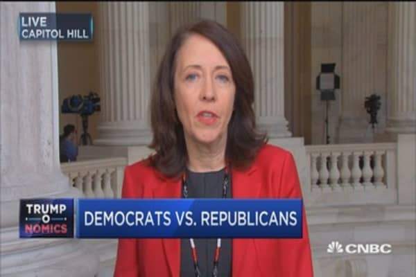 Sen. Cantwell on health care bill behind closed doors