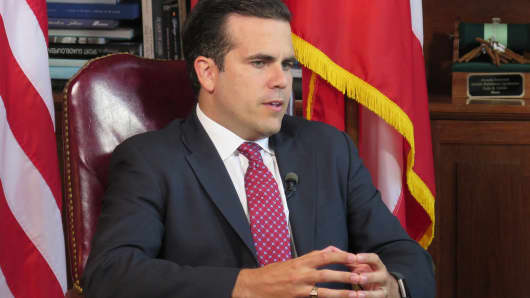"Governor of Puerto Rico, Ricardo ""Ricky"" Rossello, on June 8, 2017."