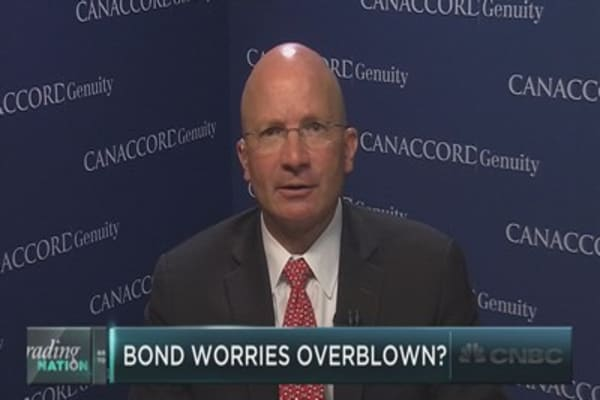 Tony Dywer: I'm not worried about the bond market