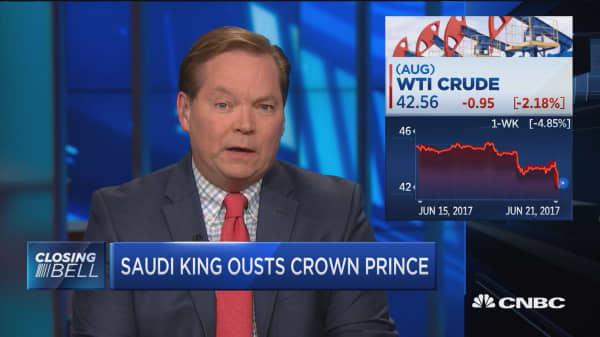 Tension in Saudi Arabia might improve oil production in short term