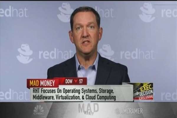 Red Hat CEO: Just scratching surface on deals with US telecom giants